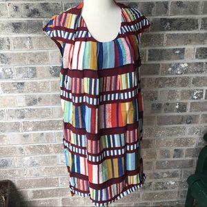 MAEVE Au Revoir Mod Retro Dress Anthropologie